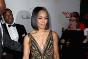 Angela Bassett Beaded Dress