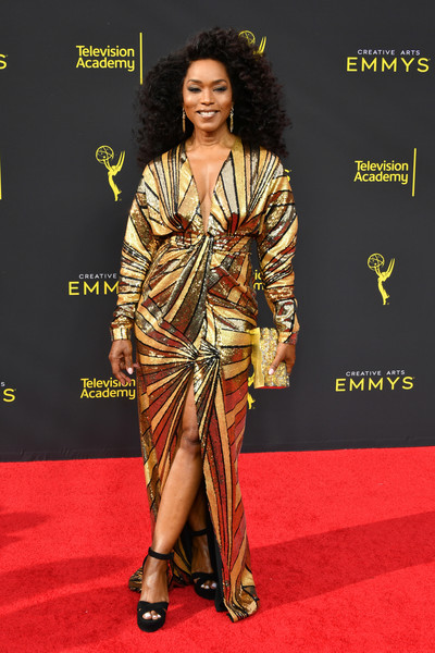 Angela Bassett Box Clutch