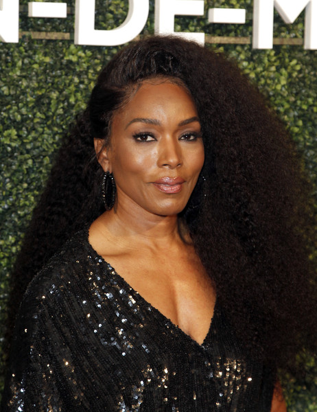 Angela Bassett Long Curls [hair,beauty,hairstyle,human hair color,lady,black hair,long hair,chin,flooring,brown hair,dress,arrivals,suzy amis cameron,maison-de-mode celebrates sustainable style,angela bassett,style,maison-de-mode,sunset tower,red carpet,celebration]