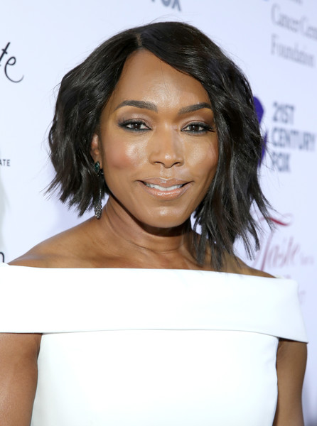 Angela Bassett Asymmetrical Cut