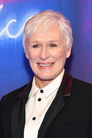 Glenn Close kept it breezy with this pixie at the 'Angels in America' Broadway opening.