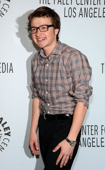 Angus T. Jones Button Down Shirt