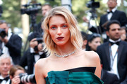Anja Rubik Strapless Dress