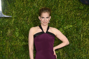 Anna Chlumsky Halter Dress