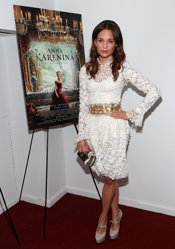 alicia vikander best dressed at the anna karenina new