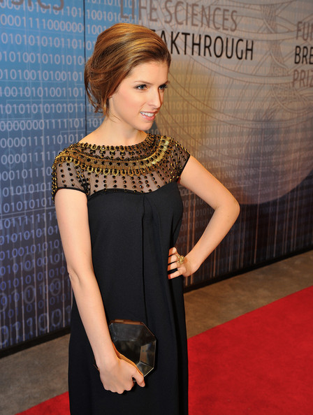 Anna Kendrick Hard Case Clutch