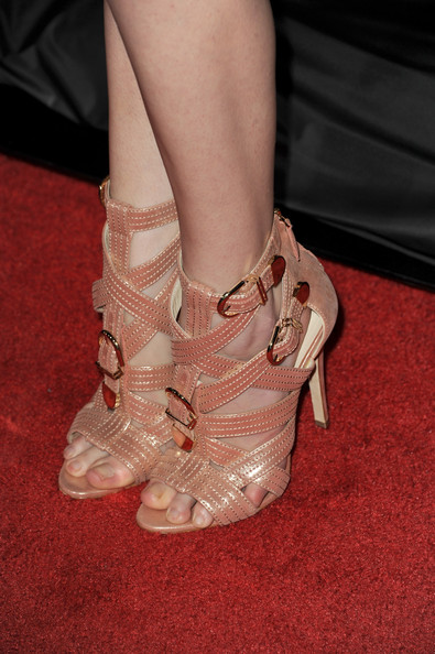 Anna Kendrick Strappy Sandals