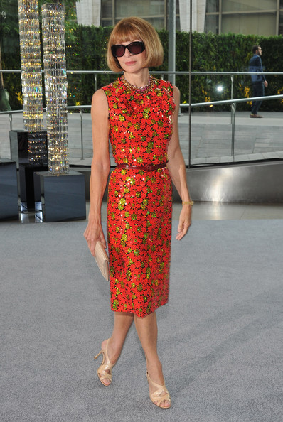 Anna Wintour Beaded Dress