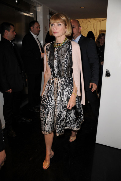 Anna Wintour Day Dress
