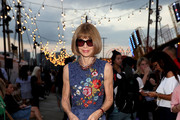 Anna Wintour Embroidered Dress