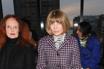 Anna Wintour Grace Coddington Altuzarra - Front Row - Mercedes-Benz Fashion Week Fall 2014