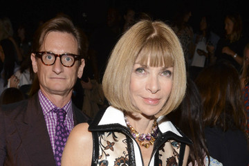 Anna Wintour Hamish Bowles rag & bone - Front Row - Mercedes-Benz Fashion Week Spring 2015