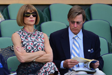 Anna Wintour Shelby Bryan Day Eleven: The Championships - Wimbledon 2015