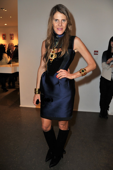 Anna dello Russo Knee High Boots