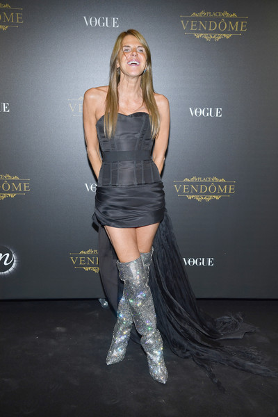 Anna dello Russo Over the Knee Boots
