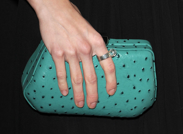AnnaLynne McCord Hard Case Clutch