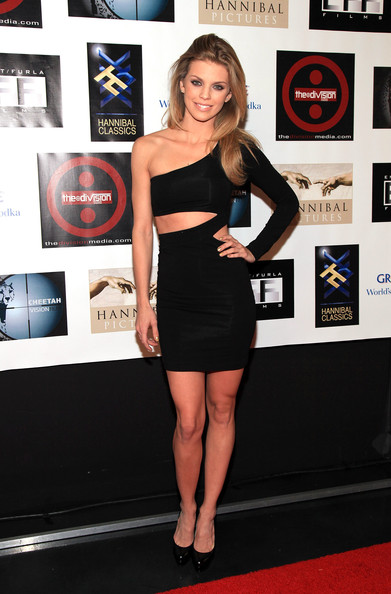 AnnaLynne McCord Cutout Dress