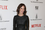 Annabeth Gish Leather Dress