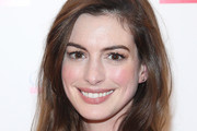 Anne Hathaway Long Side Part