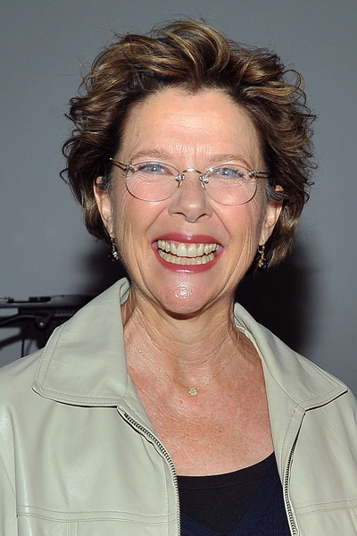 Annette Bening Messy Cut [hair,face,chin,hairstyle,forehead,smile,glasses,neck,wrinkle,ampas presents perfect choice: the art of the casting director,beverly hills,california,samuel goldwyn theater,annette benning]