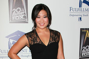 Actress Jenna Ushkowitz attends the Annual STARS 2010 Benefit Gala at the Beverly Hilton Hotel on November 1, 2010 in Beverly Hills, California.