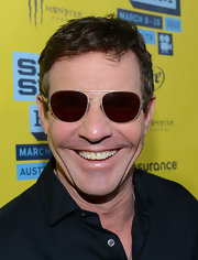 Dennis Quaid sported classic aviator shades at the 'At Any Price' red carpet at SXSW.