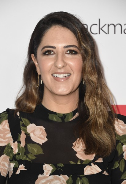 D'Arcy Carden Long Wavy Cut [hair,hairstyle,eyebrow,smile,brown hair,lip,long hair,plant,black hair,flower,arrivals,ace,darcy carden,eddie awards,the beverly hilton hotel,beverly hills,california]