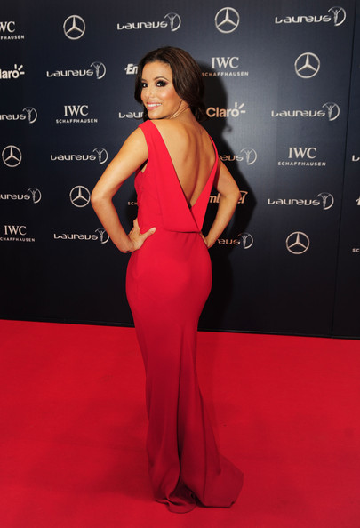 More Pics of Eva Longoria Long Wavy Cut (1 of 19) - Eva Longoria Lookbook - StyleBistro
