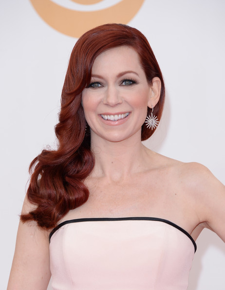More Pics of Carrie Preston Side Sweep (1 of 27) - Long Hairstyles Lookbook - StyleBistro