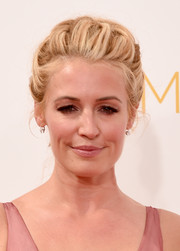 Cat Deeley looked romantic wearing this braided updo at the Emmys.