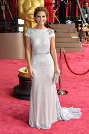 Okay, it isn't really a wedding dress - but wouldn't Maria Menounos' Oscars gown make a lovely one?