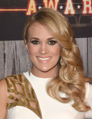 Carrie Underwood oozed sweetness with this curly side sweep at the American Country Countdown Awards.