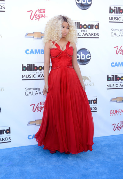 More Pics of Nicki Minaj Long Curls (1 of 86) - Nicki Minaj Lookbook - StyleBistro