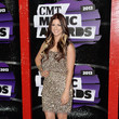 Cassadee Pope in Short Sequins at the CMT Music Awards