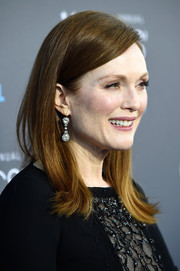 Julianne Moore wore her hair sleek and straight at the Critics' Choice Movie Awards.