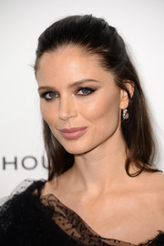 Georgina Chapman looked gorgeous even with this simple half-up 'do at the Elle Style Awards.