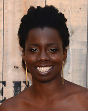 Adepero Oduye attended the Feed USA + Target launch sporting her natural curls.