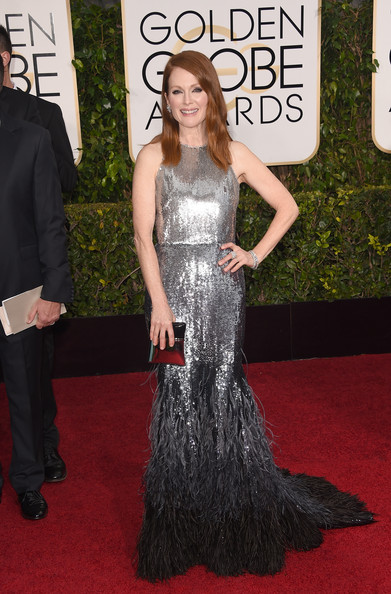 Julianne Moore in Givenchy Couture, Golden Globes 2015