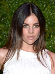 Julia Restoin-Roitfeld wore her hair sleek straight with a center part at the Tribeca Film Festival Artists Dinner.