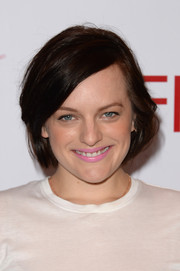 Elisabeth Moss kept it low-key with this casual bob at the AFI Awards.