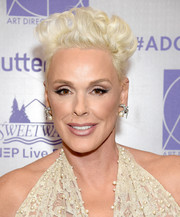 Brigitte Nielsen rocked a curly fauxhawk at the 2019 Excellence in Production Design Awards.