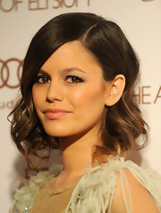 Rachel Bilson wore her hair in a loosely pinned updo at the Art of Elysium's 5th Annual Heaven Gala.