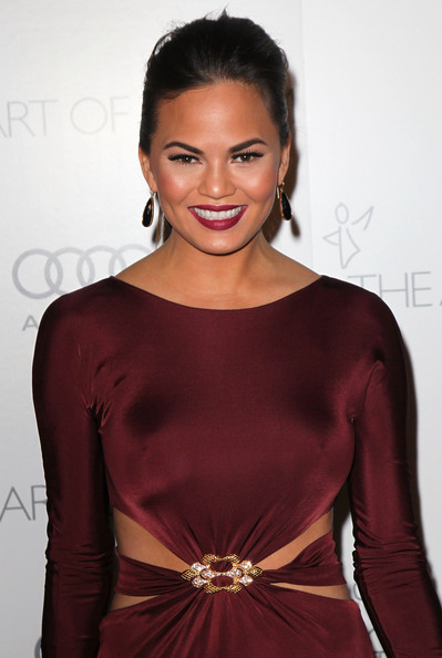 More Pics of Chrissy Teigen Cutout Dress (1 of 6) - Cutout Dress Lookbook - StyleBistro
