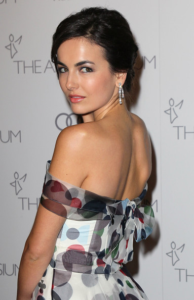 More Pics of Camilla Belle Dangling Diamond Earrings (1 of 15) - Camilla Belle Lookbook - StyleBistro