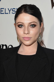 Michelle Trachtenberg sported a mildly messy ponytail at the Heaven Gala.