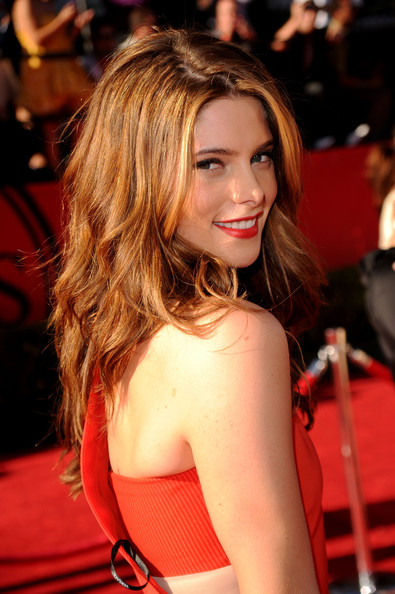 Actress Ashley Greene arrives at the 2010 ESPY Awards at Nokia Theatre L.A.