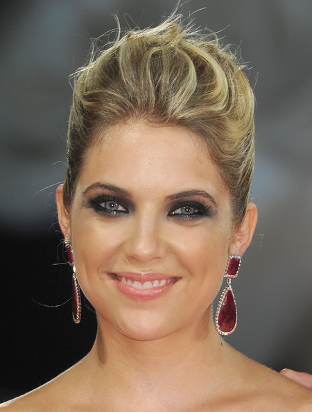 Ashley Benson Smoky Eyes [spring breakers,hair,face,eyebrow,hairstyle,chin,lip,forehead,blond,beauty,skin,ashley benson,venice,italy,palazzo del cinema,the 69th venice film festival,premiere]