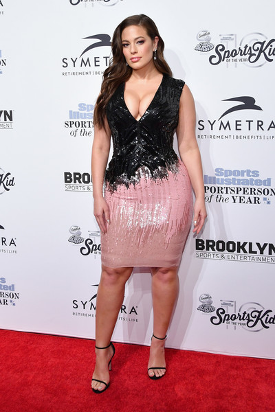 Ashley Graham Sequin Dress