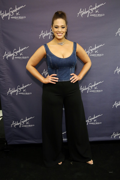 Ashley Graham Wide Leg Pants