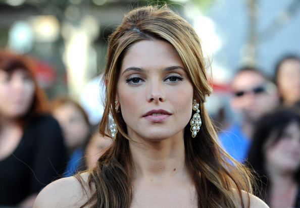 Ashley Greene Pearl Drop Earrings